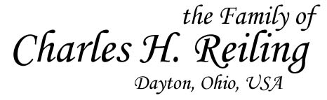 The Family of Charles H. Reiling - Dayton, Ohio, USA